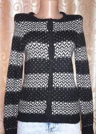 🌺🎀🌺стильная шерстяная женская кофта на пуговицах, джемпер, свитер, кардиган tu🔥🔥🔥