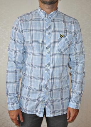 Мужская рубашка lyle & scott оригинал