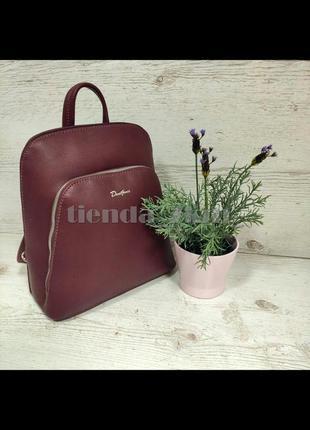 Городской рюкзак david jones (держит форму) cm5300a бордовый