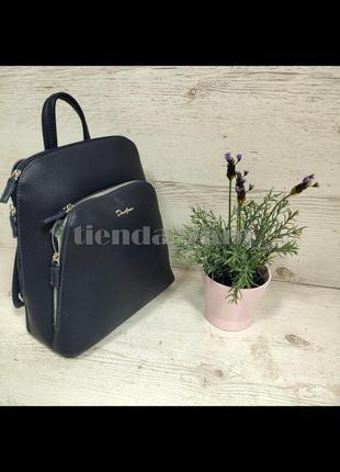Городской рюкзак david jones (держит форму) cm5300a синий