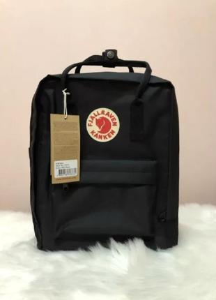 Рюкзак fjallraven kanken канкен портфель сумка classic 16 литров черный