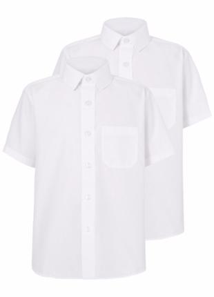 Шведки белые george, школьная форма на 6-7-8 лет рост 116-122-128