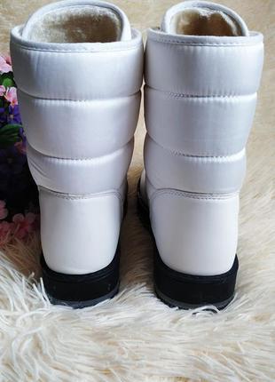 ♠️ зимние ботинки дутики, утепленные мехом ♠️4 фото