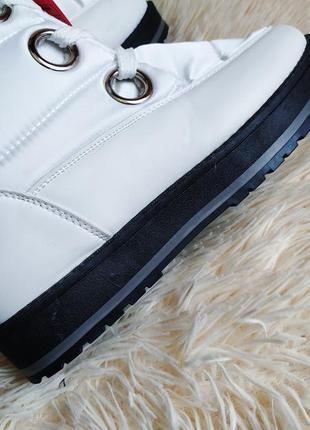 ♠️ зимние ботинки дутики, утепленные мехом ♠️6 фото