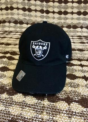 Raiders кепка
