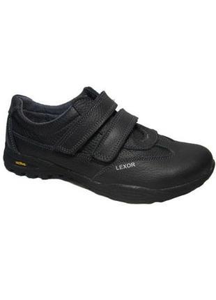 Детские кроссовки на липучках для мальчиков кожа все размеры