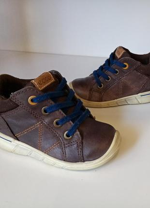 Кожаные ботиночки ecco