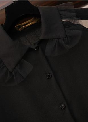 Оригинальная удлиненная блузка платье xl-xxxxxl3 фото