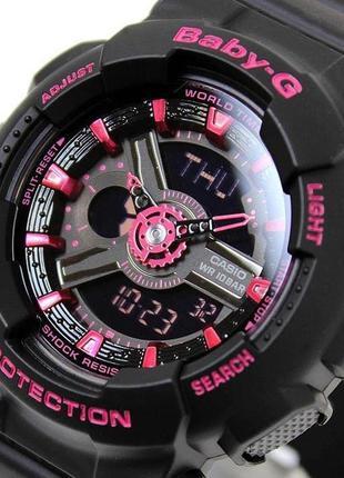Часы женские casio baby-g ba-111-1acr (оригинальные, новые с биркой)