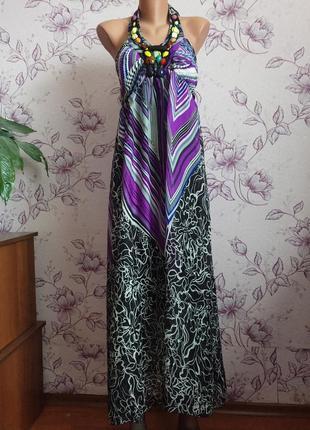 Изысканное платье сарафан свободного кроя можно для беременной плаття вагітної