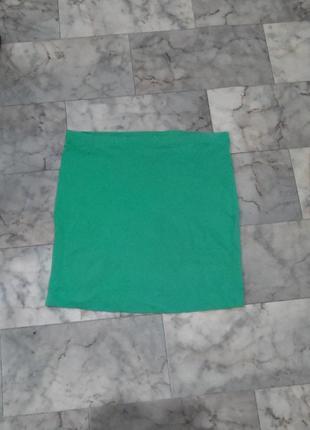 Узкая мини юбка h&m