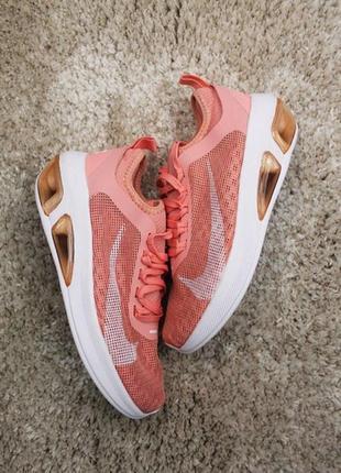 Шикарные женские кроссовки nike air max peach.