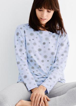 81970a51de87b Новогоднее настроение - домашний комплект-пижамка снежинка от tchibo,  германия