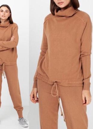 Женский прогулочный костюм брюки+джемпер finery (италия) размер s-m