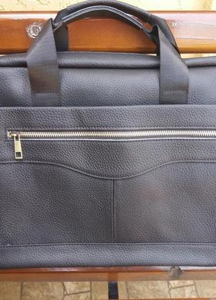Портфель из натуральной кожи.кожаный шкіряний сумка чоловіча