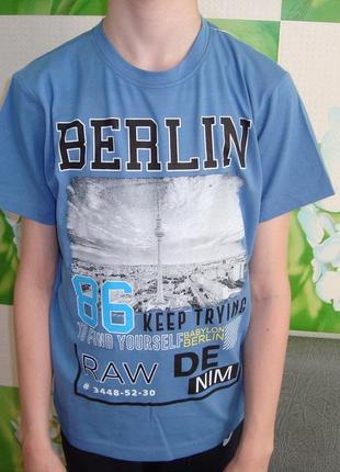 Футболка для мальчика berlin