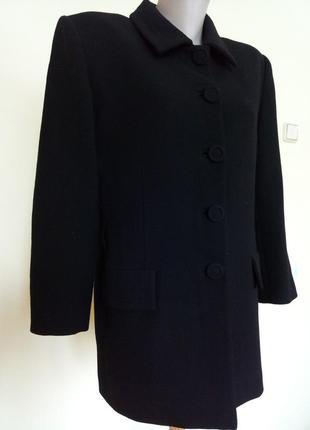 Эксклюзивное итальянское пальто шерсть