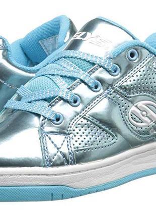 Яркие роликовые кроссовки heelys р. 38 и 39