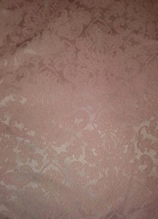 Летнее платье-трапеция цвета персик3 фото