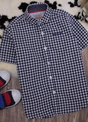 Рубашка в трендовую клетку
