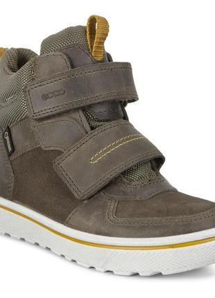 Ecco glyder - кожаные ботинки с gore-tex