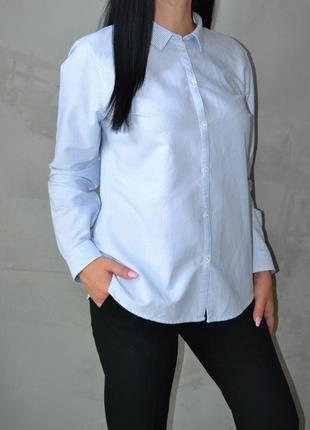 Рубашка оверсайз в полоску river island