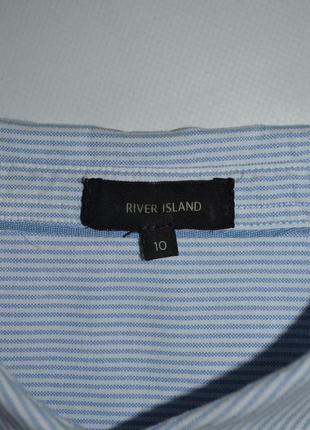 Рубашка оверсайз в полоску river island5 фото