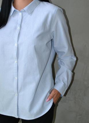 Рубашка оверсайз в полоску river island3 фото