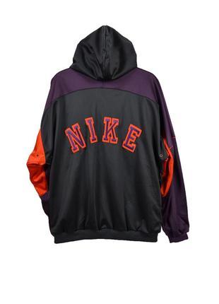 -nike gray tag big logo vintage винтажная олимпийка, оригинал!