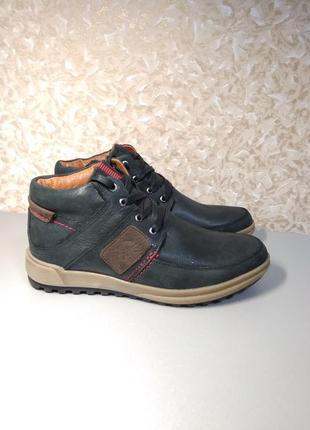 Зимние ботинки - натуральный нубук!