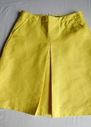 Жёлтая юбка reserved