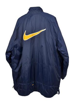 Nike vintage big logo jacket винтажная куртка, оригинал!