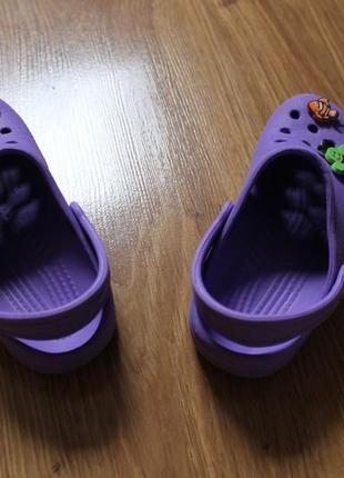 Яркие летные аквашузы сабо сандали привлекательного цвета crocs размер c10-11 (27-28)2 фото