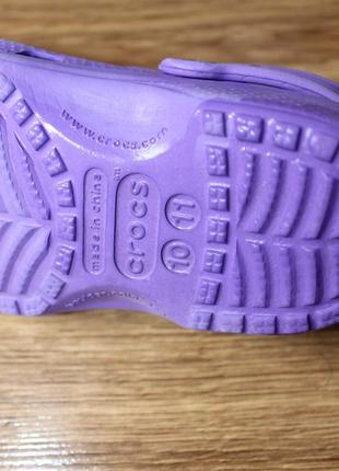 Яркие летные аквашузы сабо сандали привлекательного цвета crocs размер c10-11 (27-28)5 фото