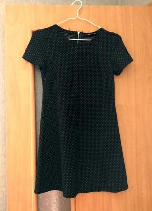 Чёрное платье sinsay