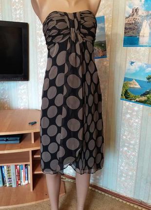 Сарафан платье из шифона  с запахом