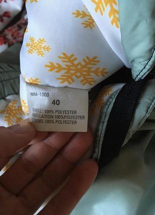 Тёплые фирменные зимние штаны head2 фото