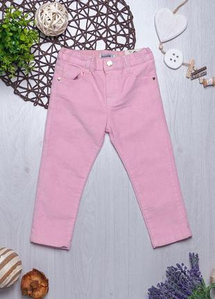 Велюровые брюки для девочки piazza italia италия1 фото