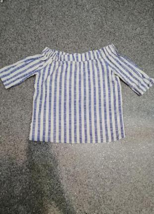 Модная хлопковая блуза