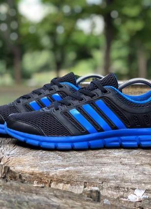 Кроссовки adidas breeze original черно-синие беговые