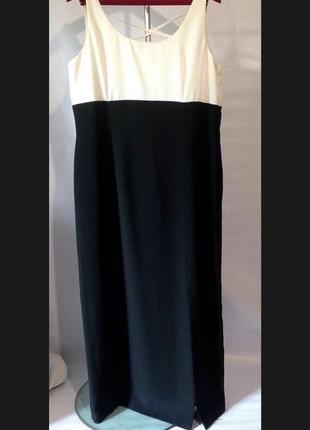 Красивое стильное длинное платье