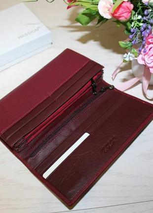 Новый кошелек из натуральной кожи4 фото