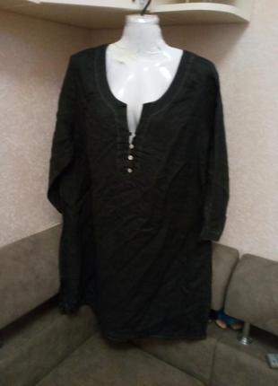 Платье туника лен
