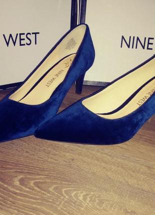 Туфли-лодочки nine west