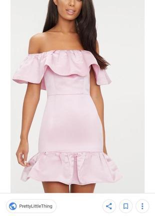 Рожева сукня-зефірка