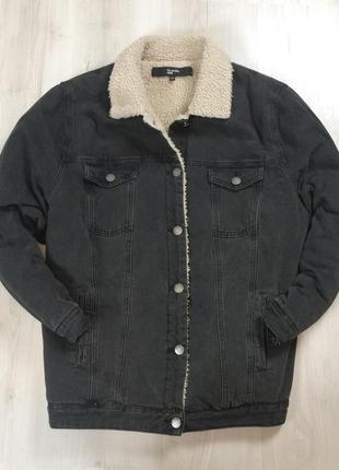 Женская джинсовка утепленная  simplybe вельветовая джинсовая куртка