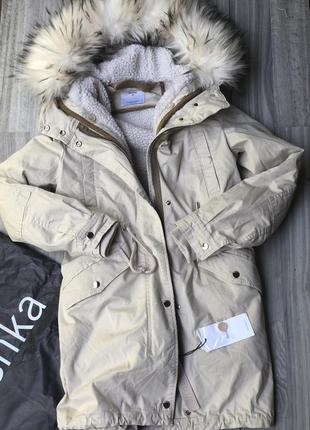 Парки осень зима bershka xs s