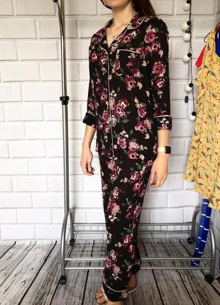 Стильная пижама комплект