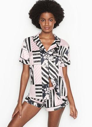 Нежная сатиновая пижама от victoria's secret