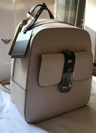 Кожаный рюкзак от итальянского бренда cromia оригинал